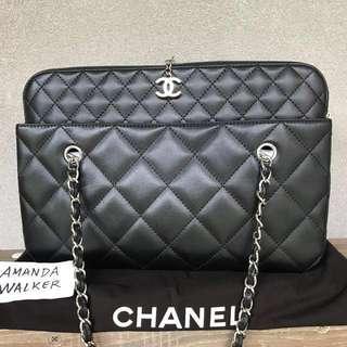 Chanel black tote