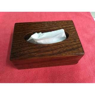 原木 面紙盒