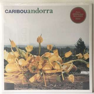 Caribou ‎– Andorra (2007 USA Original in Gatefold Sleeve - SEALED - MINT)