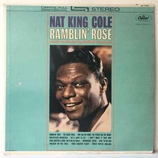 Nat King Cole – Ramblin' Rose (1962 USA Original - Vinyl is Excellent)
