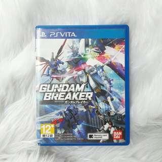 PS VITA Game Gundam Breaker