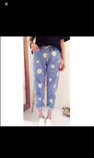 (Free NM) BN Daisy Jeans