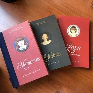 Lang Leav Books - Memories, Lullabies, Love & Misadventure Bundle