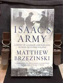 # Highly Recommended《Bran-New + A Rich And Inspiring Celebration Of The Resilience of The Human Spirit & Will》Matthew Brzezinski - ISAAC'S ARMY : A Story Of Courage And Survival In Nazi-Occupied Poland