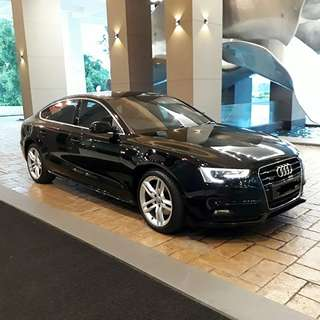 Audi A5 for rent