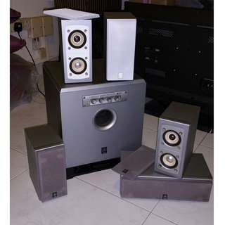 Yahama surround speakers