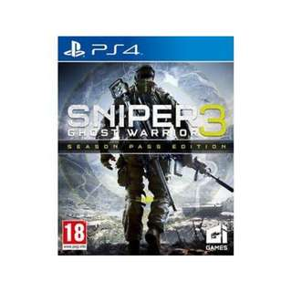 PS4 SNIPER GHOST WARRIOR 3: SEASON PASS EDTN
