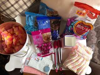 Candy corner糖果吧 馬莎拖肥糖,桃心,棉花糖