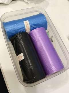 Diapers/multipurpose plastic bag
