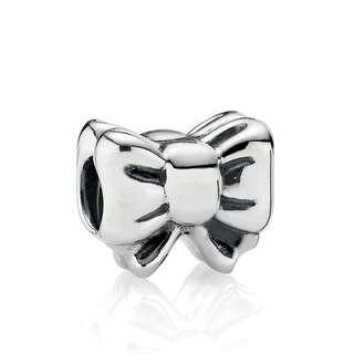 Pandora Perfect Gift Silver Bow Charm #791204