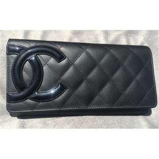 米蘭直送 Chanel bifold Cambon wallet 牛皮 銀包 長青款