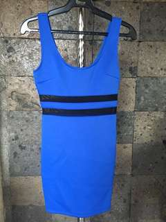 Sheer mid dress