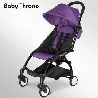 ORIGINAL Purple Baby Throne Stroller – Classic (Ultralight weight)