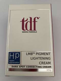 TDF LMB pigment Lightening Cream (15g)