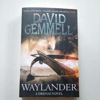 BN: Waylander, A Drenai Novel by David Gemmell