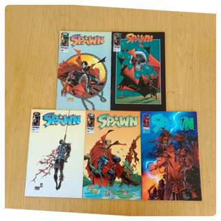 Spawn comic lot 12,16,22,24,25,26,30