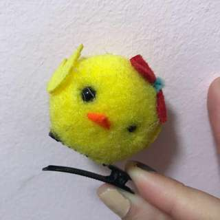 Baby Chick Hair Clip