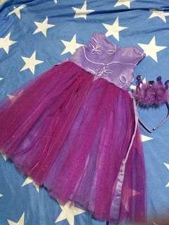 Rare Editions Purple Tulle Dress