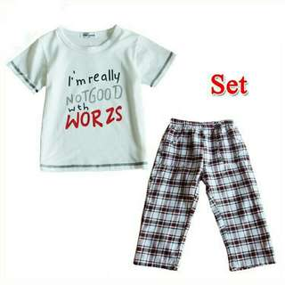 Shirt & Pants new
