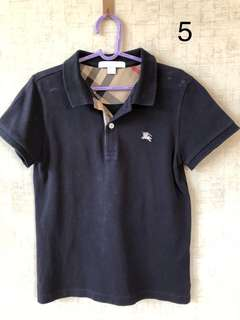 Burberry polo shirt for boys