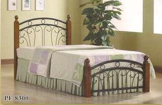 SINGLE BED KATIL BESI / METAL SINGLE BED MODEL - PF8300