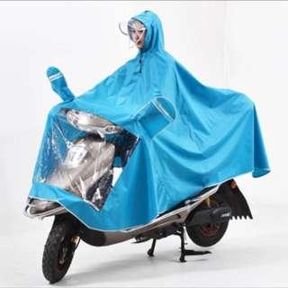 摩托車單人雨衣面罩特加大加厚