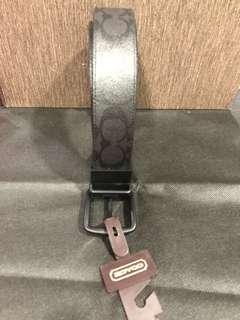 Reduced! Brand new authentic Coach men belt