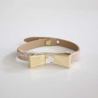Ted Baker Blush Leather Bracelet