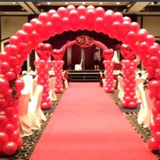 Wedding balloon decoration balloon arch