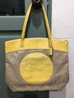 Brand new authentic Coach Laura tote bag