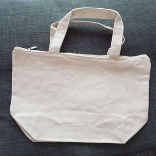 Blank Canvas bag ( lunch bag size)