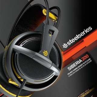 Steel Series - Siberia 200 Alchemy Gold