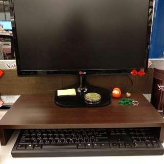 【保留中】電腦螢幕增高收納架