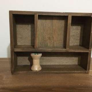 雜貨風木盒 分格盒