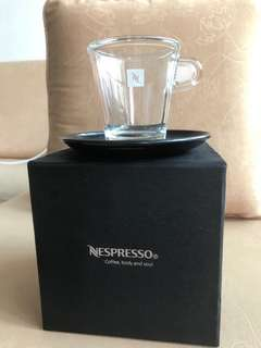 Nespresso elegant cup for coffee