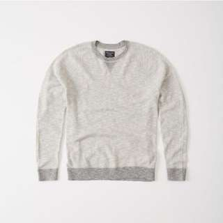 BN Mens Abercrombie & Fitch Athletic Crew Sweater