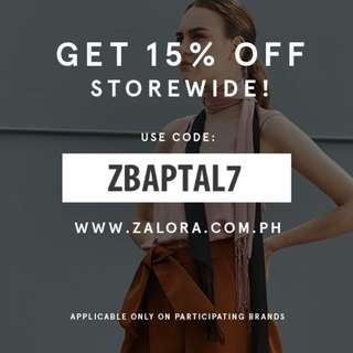 Zalora Discount Code (with free shipping!)