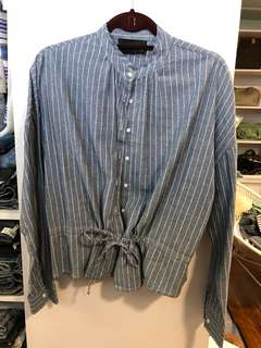 Chloe Edit Tie Blouse - Preloved, Excellent Condition