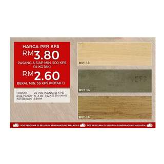Vinyl Flooring - Cheapest in Malaysia