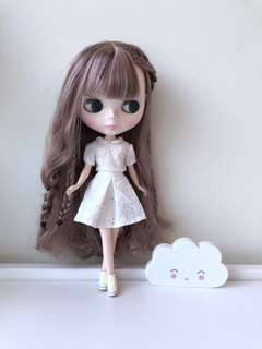[20%Off] Blythe 下午茶衣裝 White (Outfit ONLY)