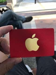 Itunes 88$ card