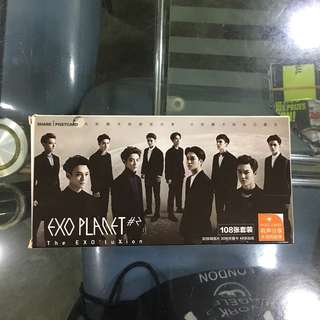 EXO share postcards