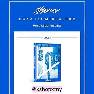 HOYA 1st Mini Album - ' Shower '