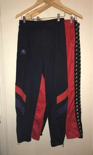 Kappa Kontroll block pants navy/red