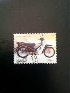 Malaysia 2003 World Philatelic Exhb Motorcycles 1V Used (0362)