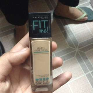 Maybelline Fit Me Foundation (125 Nude Beige)