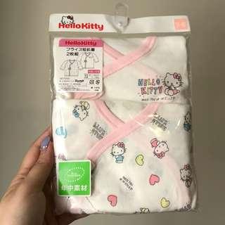 日本HelloKitty新生兒和尚袍2件套裝
