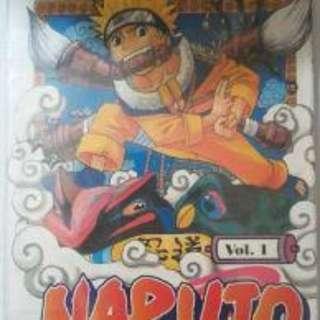 Komik naruto limited 1st edition