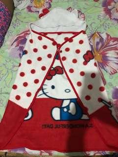 Hello kitty hooded cape