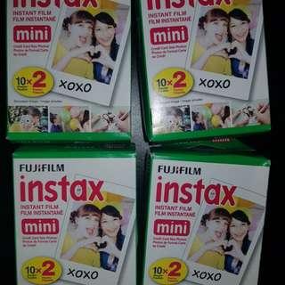 4 (10x2) instax film